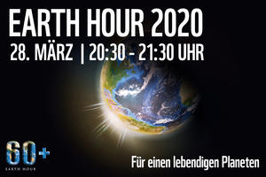 Logo der Earth Hour 2020